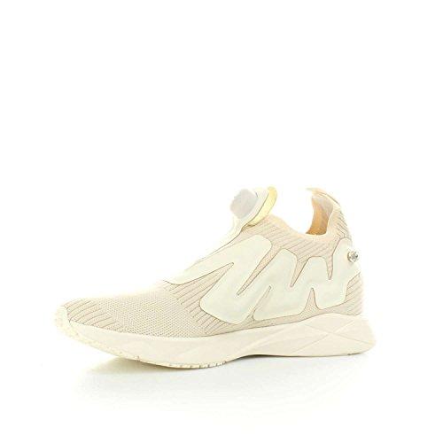 Reebok Pump Supreme style–Chaussures de sport, Homme, Blanc–(Premium/Classic White/Snowy Grey)