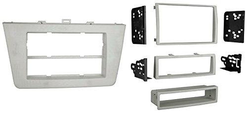 6 Mazda Kit Radio - Metra 99-7511 Single DIN or Double DIN Installation Dash Kit for Mazda 6 (Silver)