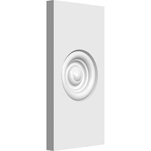 Ekena Millwork PBP035X070X050FOS02-CASE-8 Plinth Block, 3 1/2