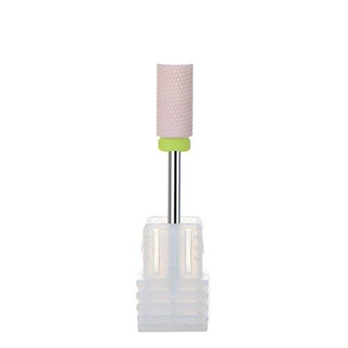 (Manicure Drill Accessories Ceramic Nail Drill Bit Dead Skin Nail Polish Tool)