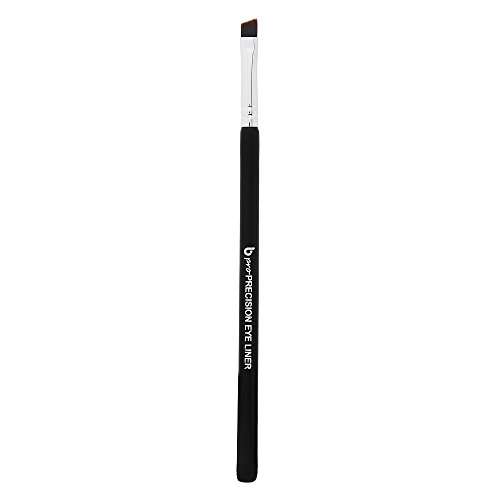 Gel Eyeliner Brush Fine Angled - pro Precision Eye Liner Makeup Brushes with Ultra Thin Slanted Flat Angle Bristle for Tightline, Professional Applicator for Liquid, Powder, Cream, Cake ()