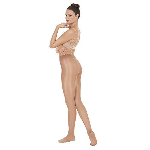 Grandeur Hosiery Girls Shimmer Footed Tights
