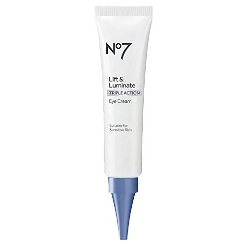 Boots No7 Lift Luminate Triple Action Eye Cream 0.5 Ounce