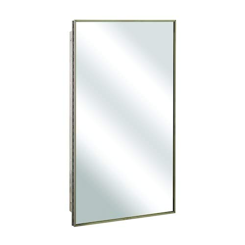 Bradley 175-1100 Medicine Cabinet Surface Mount Stainless -