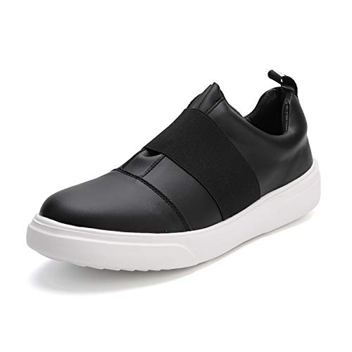 Men's Sneakers White Shoes Slip-on Simple Fashion Casual Skate Style Low Cut Comfortable Breathable Walking Business