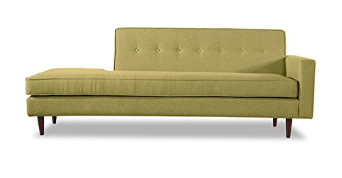 Kardiel Eleanor Mid-Century Right Modern Sofa, Olivine Vintage Twill