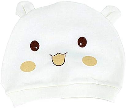 Homeofying Sombrero De Unisex Gorro De Recién Nacido Cute Smile Face Conejo Diseño Gorra De Algodón Gorros Cálidos Gorros Yellow_Smile Face: Amazon.es: Belleza