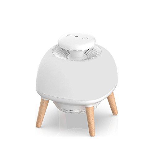 HJSS Lámpara Anti Mosquitos multifunción Repelente electrónico para Interiores y Exteriores Trampa no tóxica Baby Sleep...