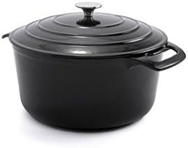 Cook s Tools Cast Iron Porcelain Dutch Oven 7Q 7 Q
