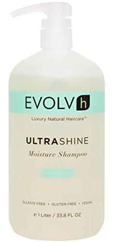 EVOLVh - Organic UltraShine Moisture Shampoo (33.8 fl oz/1 liter)