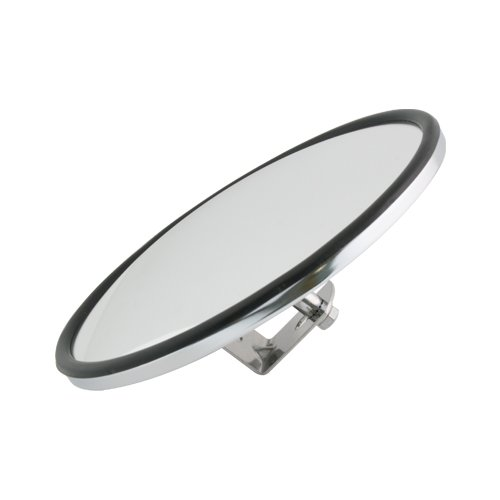 Grand General 33080 Chrome 8' Convex Blind Spot Mirror with 'L' Bracket