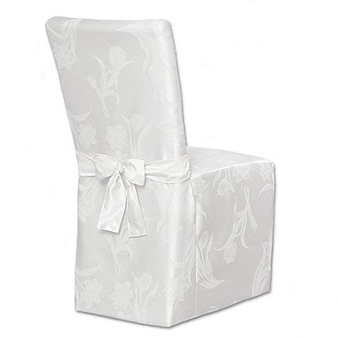 (Spring Blossoms Damask Chair Cover)