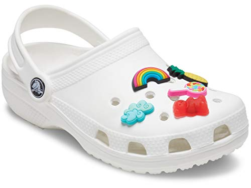 Crocs Jibbitz Shoe Charm 5-Pack, Happy Candy, Small