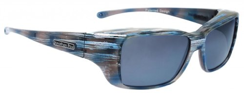 Jonathan Paul Fitovers Nowie Small Polarized Over Sunglasses ; Steel & Polarvue - Sunglasses Paul Fitover Jonathan
