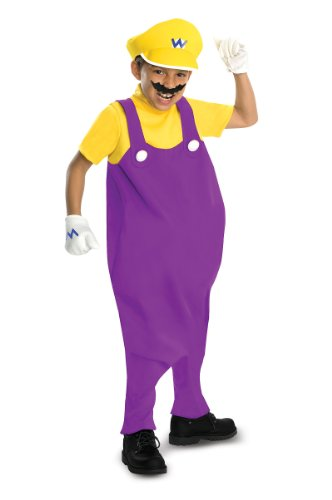 Big Boys' Deluxe Wario Costume - M