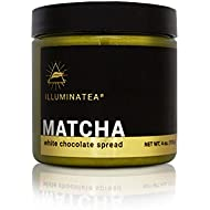 ILLUMINATEA Matcha White Chocolate Spread (4oz)