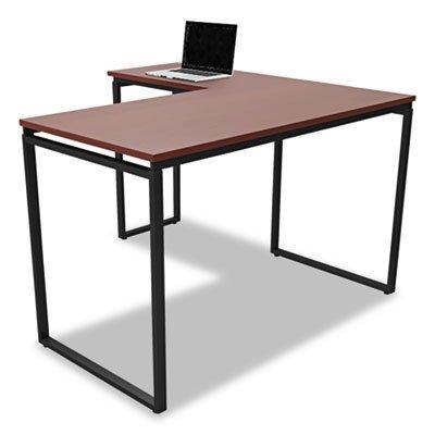 (Linea Italia SV751CH Seven Series L-Shaped Desk, 60