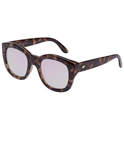 Le Specs Women's Runaways Sunglasses, Volcanic Tort/Diamond Revo, One - Runaway Sunglasses