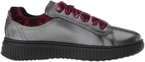 Grigio C9002 Sneaker Geox B dk Grey Bambina Infilare J Discomix 6vA6xTwqgF
