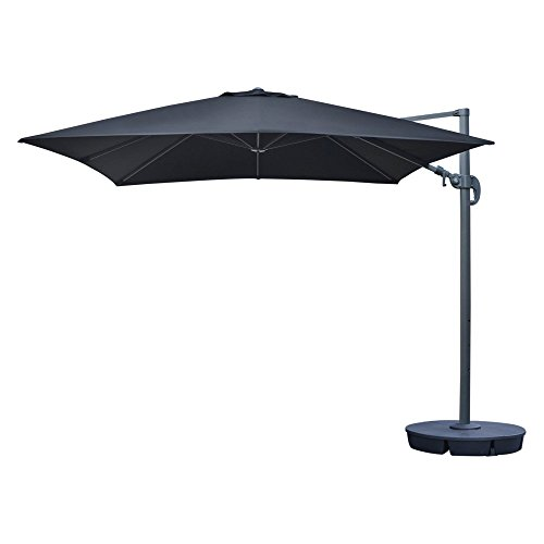 Blue Wave Island Umbrella Santorini II 10 ft. Square Cantilever Umbrella Review