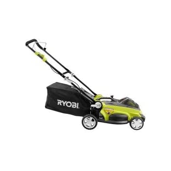 Ryobi 16 in. 40-Volt Lithium-ion Cordless Walk-Behind Lawn Mower with Two Batteries