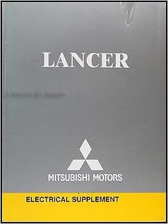 2004 Mitsubishi Lancer Wiring Diagram Manual Original: Mitsubishi:  Amazon.com: BooksAmazon.com