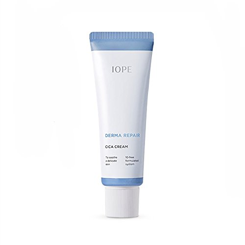Cheap IOPE New Derma Repair Cica Cream 50ml Day Night Facial Moisturizer Madecassoside 10 Free For Sensitive Skin