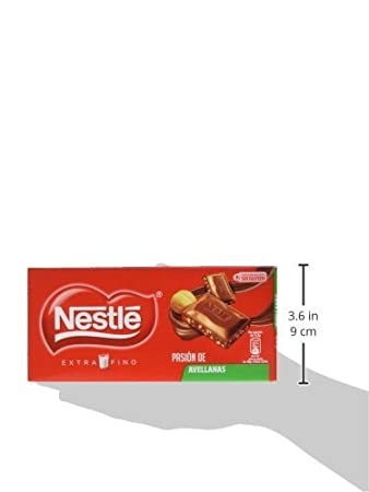 Nestlé Extrafino Chocolate con Leche Avellanas - Tableta de ...