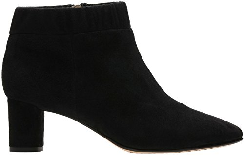 Black 7 Boot Clarks Iris Suede M Womens 5 Size B Grace US Color qfXpPRwX4