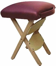 Therapist S Choice 174 Portable Wooden Folding Massage Stool