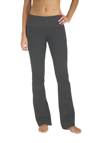5021-cc-xs-35-flared-leg-fold-over-waistband-yoga-pants