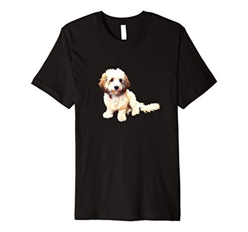 Cute Puppy Tshirt - Cavachon