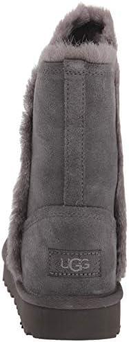 UGG - Stivali Classic Short Fluff High Low 1103746 - Charcoal
