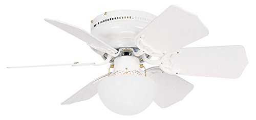 Litex BRC30WW6L Vortex 30-Inch Ceiling Fan with Six Reversib