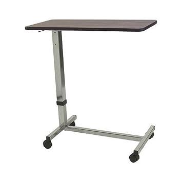 adjustable c table. Adjustable Non-Tilt Overbed Table / Hospital C V