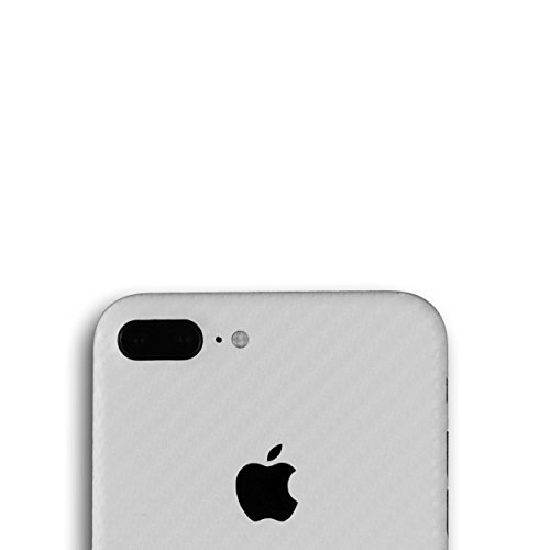 AppSkins Rückseite iPhone 7 PLUS Full Cover - Carbon pearl
