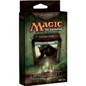 Magic the Gathering- MTG: Magic 2010 Core Set - Theme Deck - Intro Pack Green : Nature