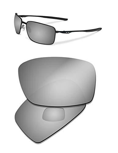 Prizo Polarized Replacement Lenses for Oakley Square Wire II New (2014) Sunglasses (Black ()