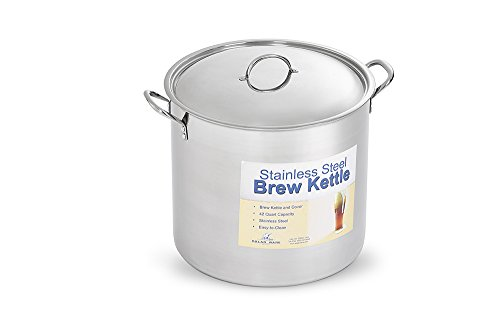 Polar Ware Stainless Steel Brew Pot with Cover, 42-Quart by Polar Ware