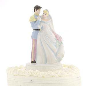 Great Cinderella U0026 Prince Charming Wedding Cake Topper