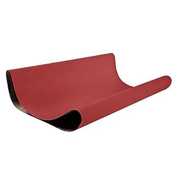 Coarse Grade Pack of 2 36 Grit 36 Width Bright Red Cloth Backing 36 Width 75 Length VSM Abrasives Co. VSM 307913 Abrasive Belt Ceramic 75 Length