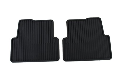 Front Gm Mat - Genuine GM 95332036 Front and Rear Floor Mat