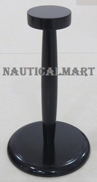NAUTICALMART Medieval Armor Helmet Stand in Black for sale  Delivered anywhere in USA
