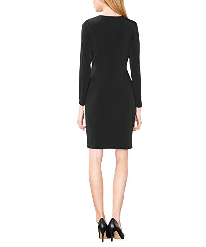Schwarz Black Collection ESPRIT 001 Damen Kleid ZIytZxwaq