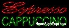 Espresso Cappuccino LED Sign -