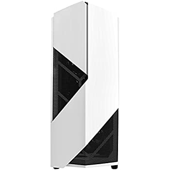 NZXT Noctis 450 Mid Tower Computer Case,  Glossy Wite (CA-N450W-W1
