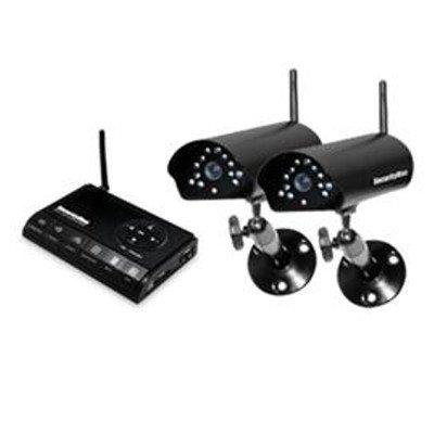 SECURITYMAN - Two Wireless Outdoor/Indoor Cameras/SD