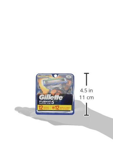 Gillette Fusion5 ProGlide Men's Razor Blades, 12 Blade Refills by Gillette (Image #8)