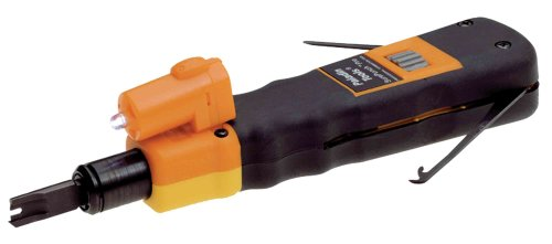 Greenlee Communications 3588 SurePunch Pro Punchdown Tool with 110/66 Blade and Detachable Light
