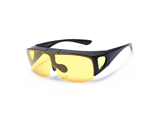 Color ATTOUPAN y para Sol Libre polarizadas Deportes Negro Ciclismo Hombre Gafas Amarillo de y para Aire al RxrqZwROY